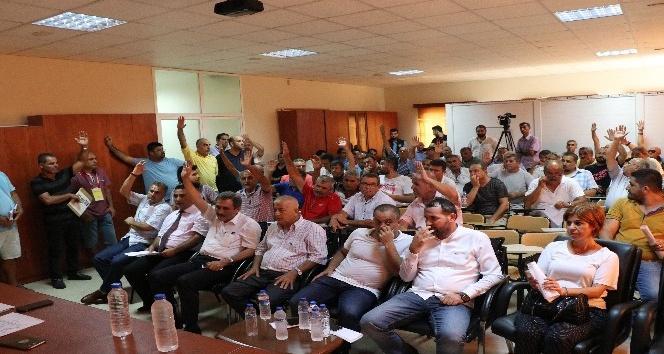 Futbol İl Temsilciliğine yeniden Ahmet Karataş seçildi