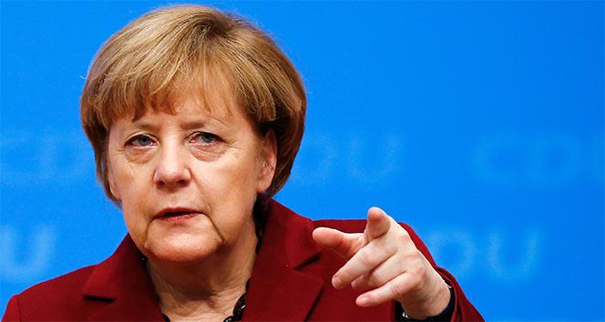 Merkel'in hedefi işsizlik