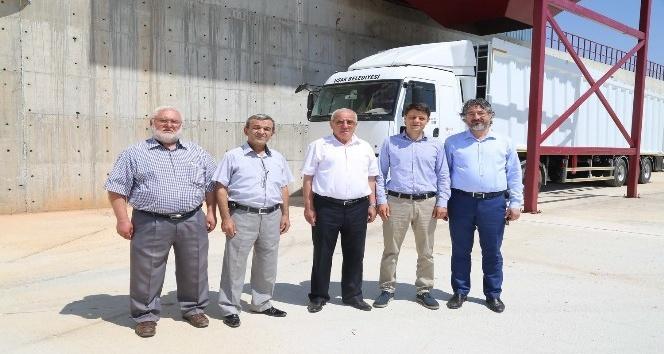 Karahallı ilçesinde katı atık transfer istasyonu kuruldu