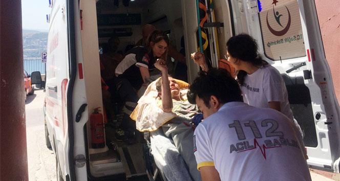 Bursada jel yakıtlı ocak patladı: 3 yaralı
