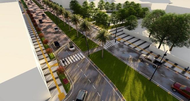 Ahmetli'nin prestij caddesinde yeni gelişme