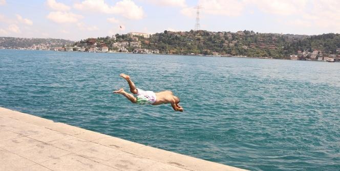 İstanbul'da sıcak hava bunalttı