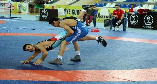 Uluslararası Yıldızlar Güreş Turnuvasında Türkiye 8 altın madalya ile birinci