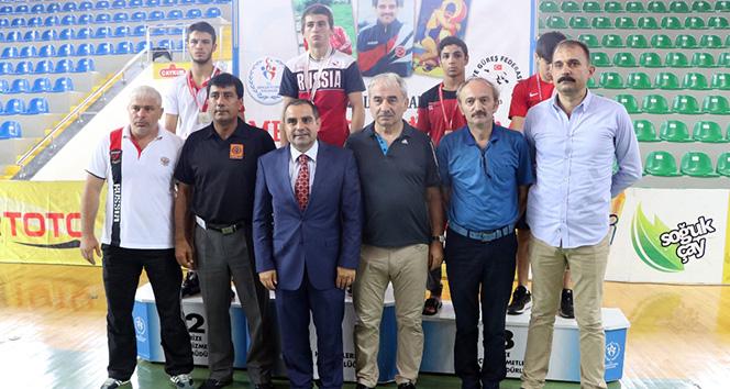 Güreş Turnuvasında Türkiye 8 altın madalya ile birinci