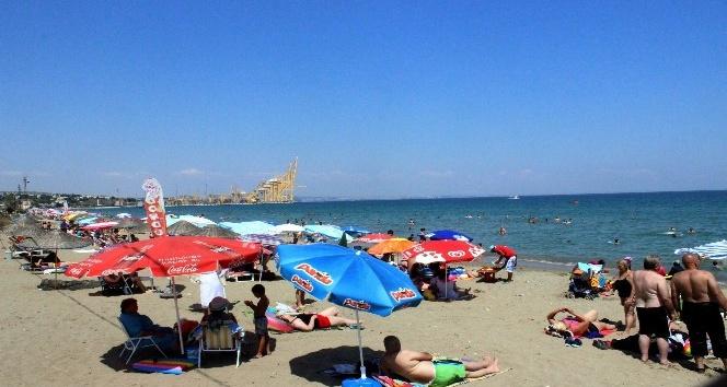 Hafta sonu tatili plajları dolup taşırdı