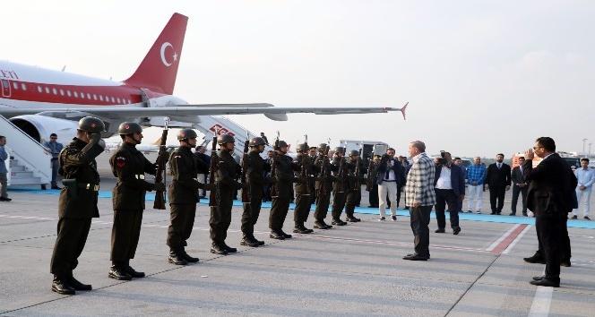 Cumhurbaşkanı Erdoğan Antalya'dan ayrıldı