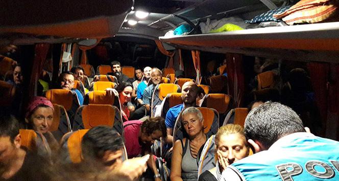 Vadide kaybolan 23 kişilik yürüyüş grubu AFAD ekiplerince bulundu