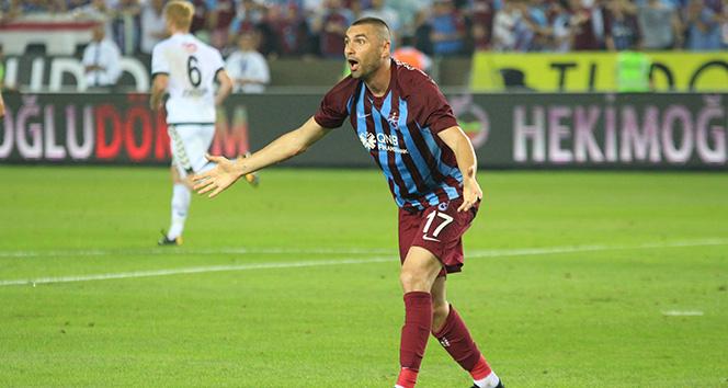 Burak Yılmaz, 5 yıl sonra Trabzonspor formasıyla gol attı