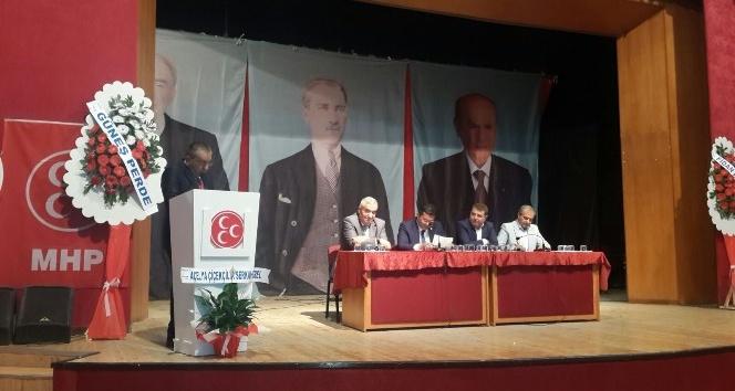 MHP İl Kongresi tamamlandı