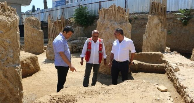Kartalda Marmaray kazısında tarihi mezar kalıntıları bulundu
