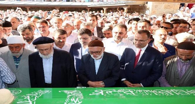 Başbakan Yardımcısı Bozdağ, Yozgatta cenaze törenine katıldı
