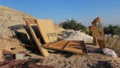 Elazığda kamelya çöktü: 2 işçi yaralandı