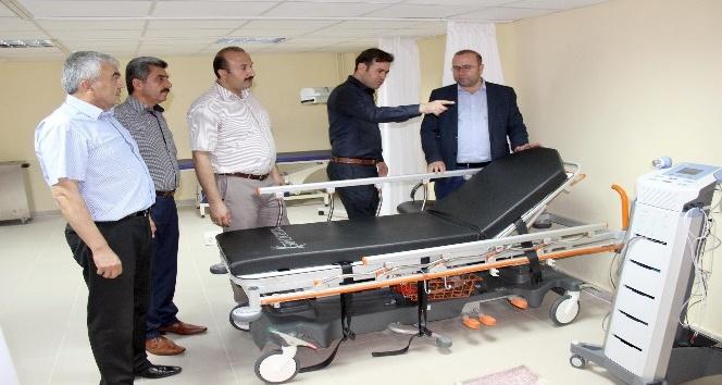Kaldığı huzurevine fizik tedavi ünitesi yapılmasına 55 bin lira bağışladı