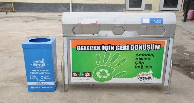 Kırşehir Belediyesi Temizlik İşlerinden Çevre Dostu Kırşehir projesi