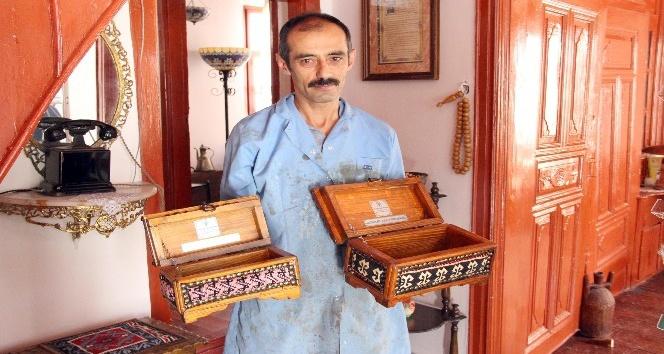 Yozgata özgü çeyiz ve takı sandıkları tarihi konaklarda üretiliyor