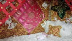 Kütahyada bebeklere doğu yatağı geleneği