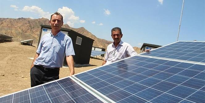Erzurum'a 1 milyon dolarlık Güneş Enerji sistemi kurdular
