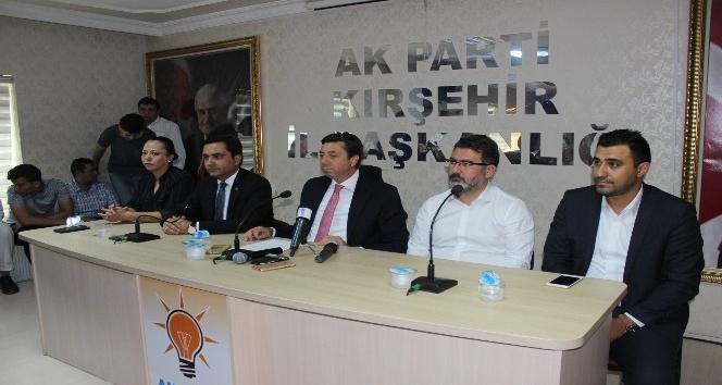 AK Parti Kırşehir İl Başkanı Kendirli: Aday olmayacağım
