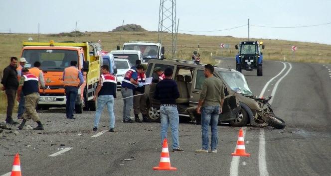Kars-Ani yolunda trafik kazası: 1 ölü, 4 yaralı