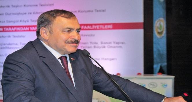 Bakan Eroğlu, Elazığda 7 tesisin temel atma törenine katıldı
