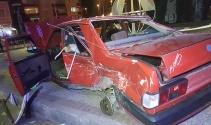 Samsunda iki otomobil çarpıştı: 5 yaralı