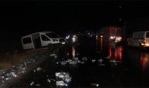 Sivasta zincirleme trafik kazası: 2 ölü, 7 yaralı