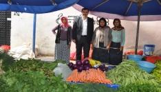 Aydınlı üreticiye organik tarım desteklemeleri müjdesi