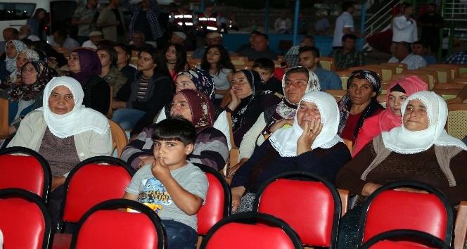Yozgatta köy çocukları ilk kez sinema heyecanı yaşadı