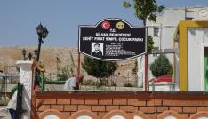 PKKnın katlettiği Fırat Sımpilin adı parkta yaşatılacak