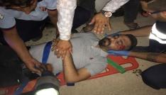 Nusaybinde trafik kazası: 2 yaralı
