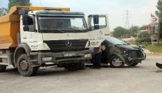 Bilecikte kaza: 1 yaralı