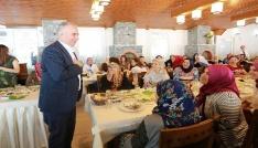 Başkan Zolan Benim Mahallem projesini kadınlara anlattı