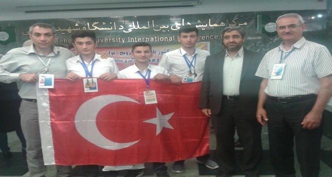 Iğdırdan Türkiyeye altın madalya