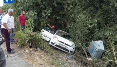 Devrekte trafik kazası: 2 yaralı