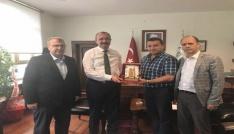 Başkan Bakıcı ve Milletvekili Eldemirden DSİ Bölge Müdürü Güle ziyaret