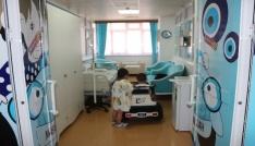 Sevgi evlerinde kalan çocuklar sünnet edildi