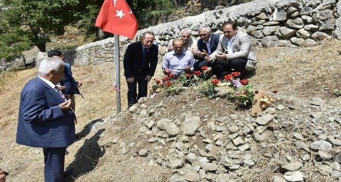 TBMM Başkanvekili Hamzaçebi'den şehit öğretmenin ailesine ziyaret