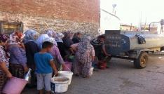 Ödemişte vatandaşları isyan ettiren su sıkıntısı