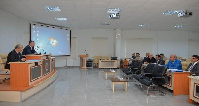 Ertuğrul Gaziyi Anma ve Söğüt Şenlikleri Koordinasyon toplantısı yapıldı