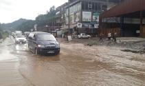 Rizede şiddetli yağış