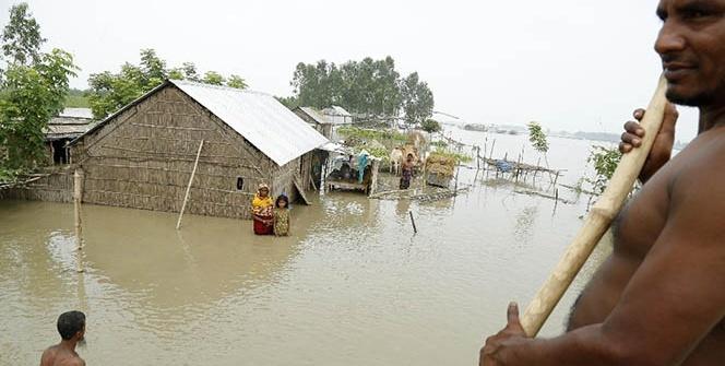 Bangladeş'te sel felaketi