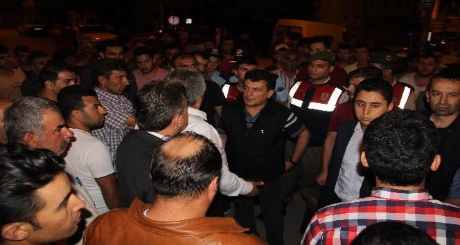 Terör örgütü PKK propagandası iddiası gerginliği