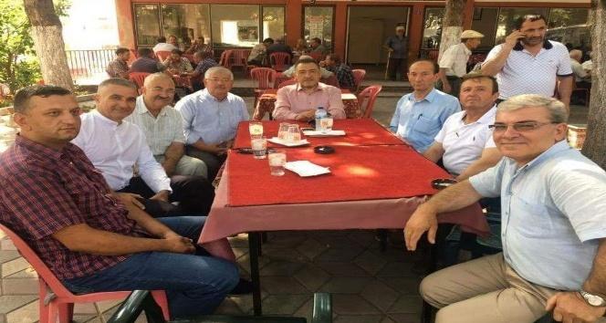 Milletvekili Mustafa Şükrü Nazlı Şaphanede