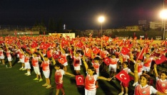 Balçovada yaz okullarına muhteşem final