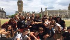 Öğrenciler yaz tatilinde İngilterede eğitim aldı