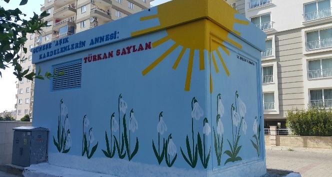 Kardelenler Türkan Saylan Parkında yerini aldı