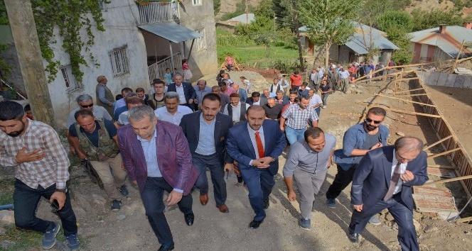 Milletvekili Külünk Durankayayı ziyaret etti