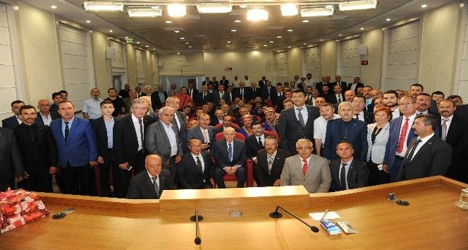 Kütahya MHPden, Genel Başkan Devlet Bahçeliye ziyaret