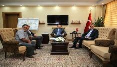 DOKAP Başkanı Ekrem Yüce, Vali Ali Hamza Pehlivanı ziyaret etti