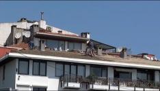 (Özel Haber) Beşiktaşta işçilerin ölümle dansı